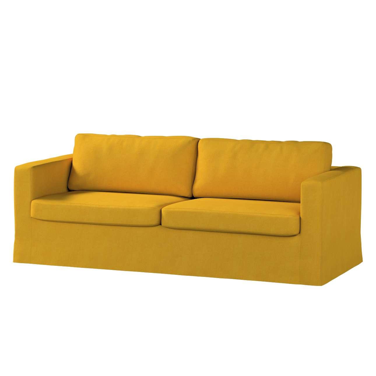 Karlstad klädsel 3-pers. soffa -  lång - 204cm i kollektionen Etna, Tyg: 705-04