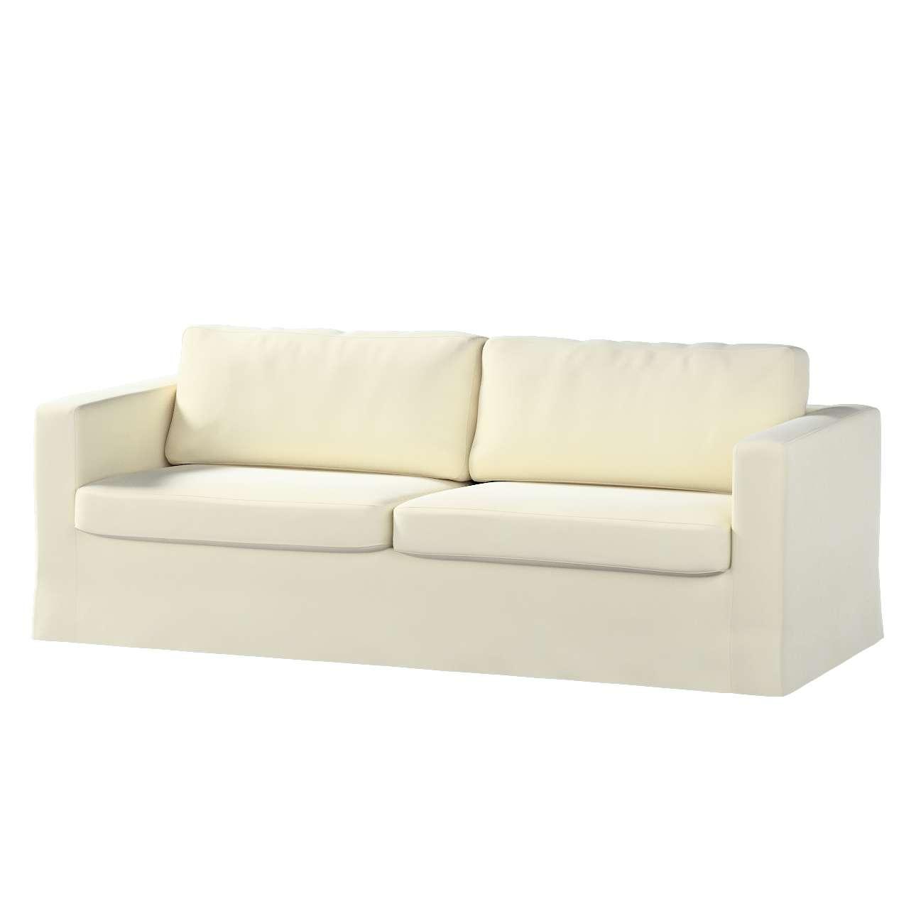 Hoes (lang) voor IKEA-Karlstad 3-zitsbank van de collectie Velvet, Stof: 704-10