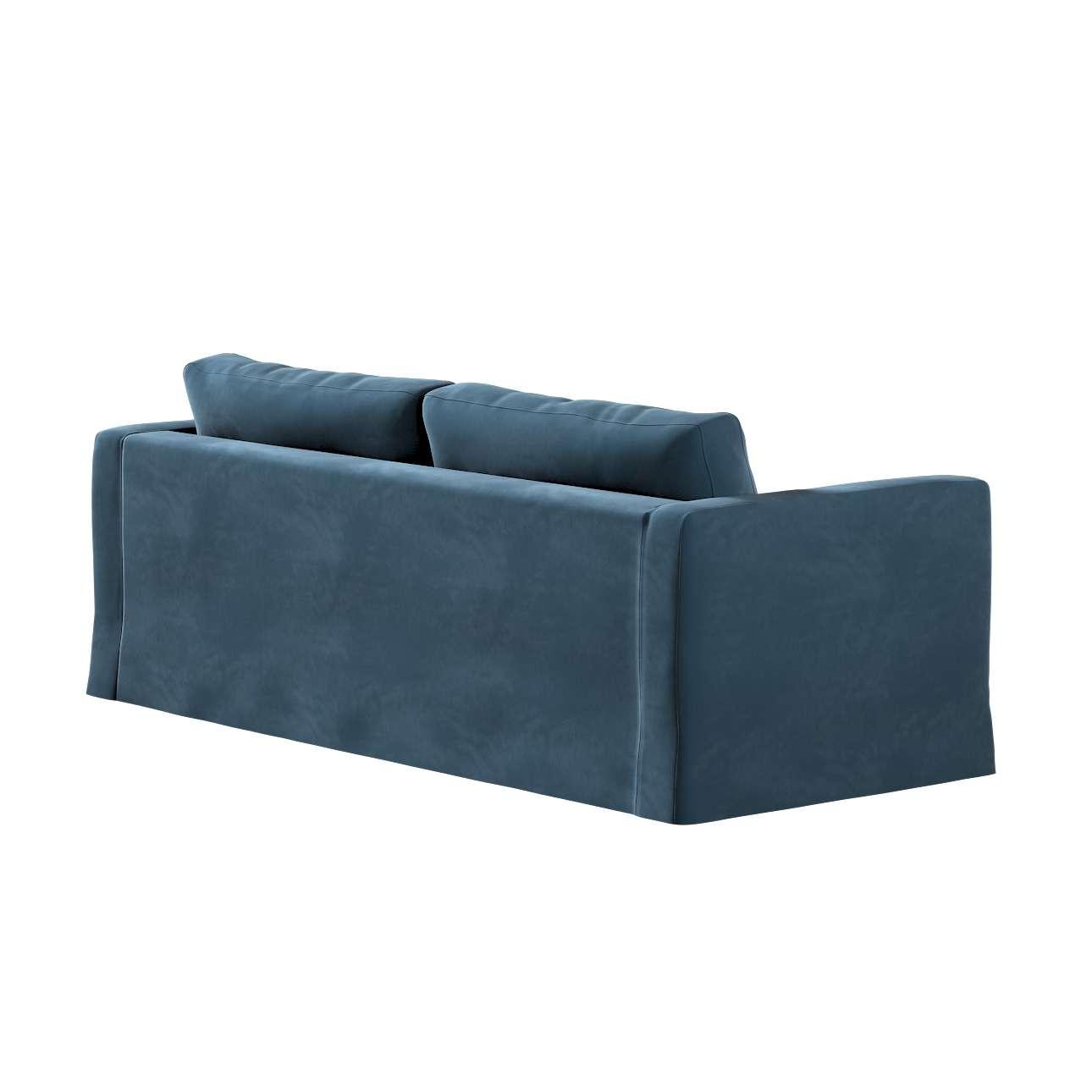 Karlstad klädsel 3-pers. soffa -  lång - 204cm i kollektionen Velvet, Tyg: 704-16