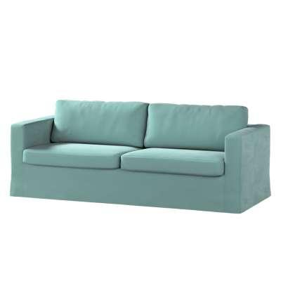 Karlstad klädsel 3-pers. soffa -  lång - 204cm i kollektionen Velvet, Tyg: 704-18