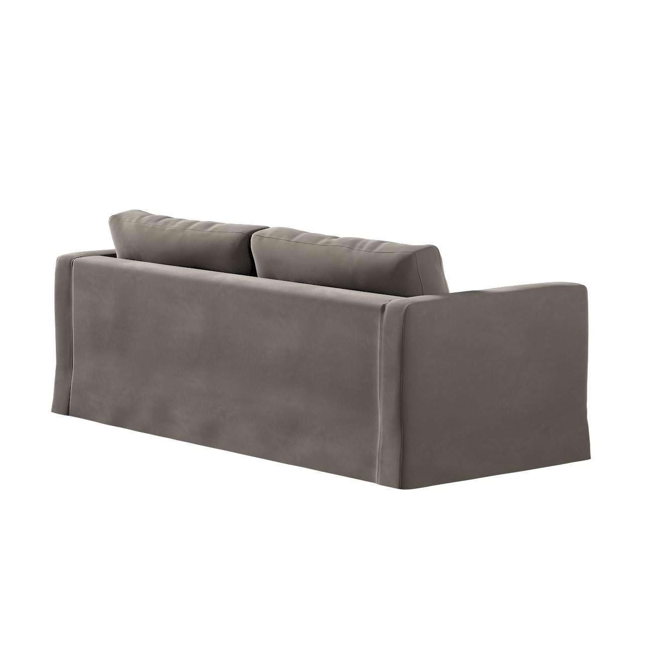Karlstad klädsel 3-pers. soffa -  lång - 204cm i kollektionen Velvet, Tyg: 704-19