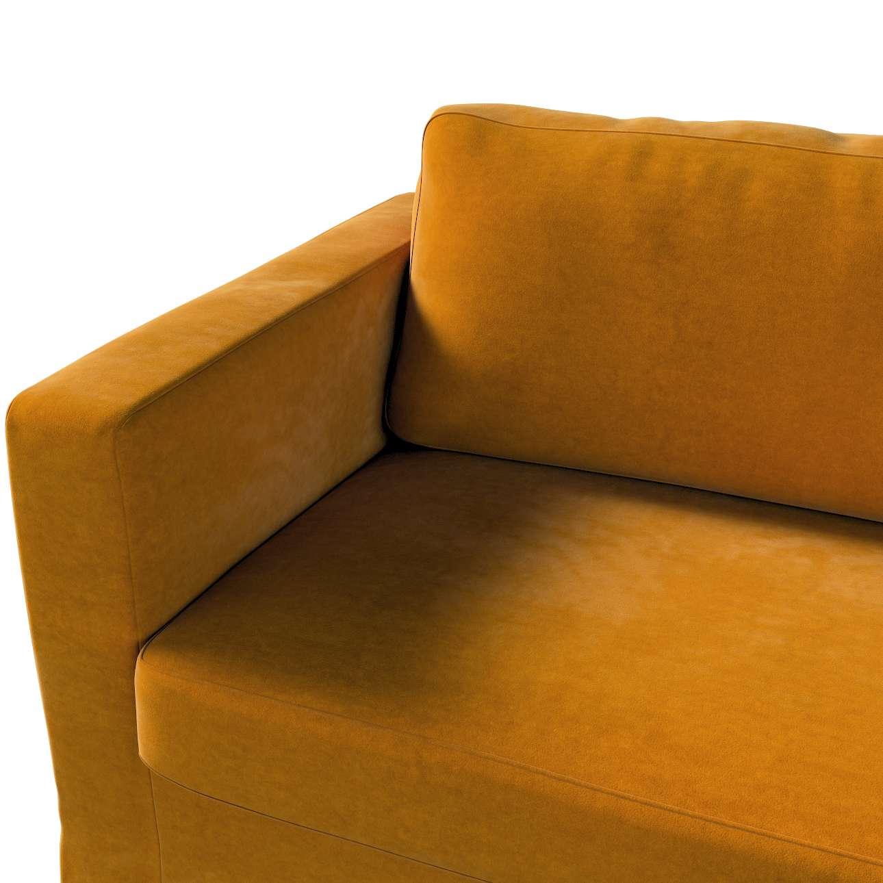 Karlstad klädsel 3-pers. soffa -  lång - 204cm i kollektionen Velvet, Tyg: 704-23