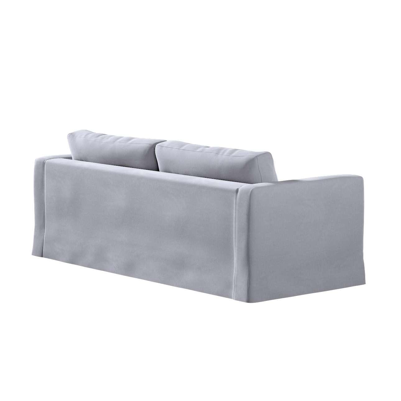 Karlstad klädsel 3-pers. soffa -  lång - 204cm i kollektionen Velvet, Tyg: 704-24