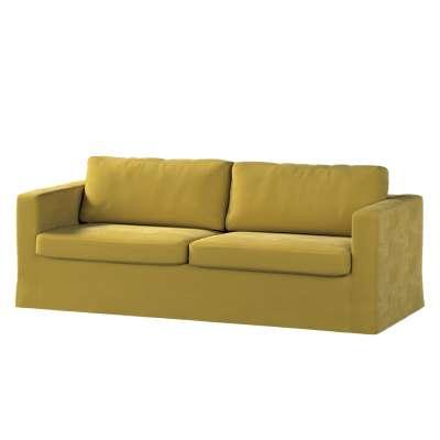 Hoes (lang) voor IKEA-Karlstad 3-zitsbank van de collectie Velvet, Stof: 704-27
