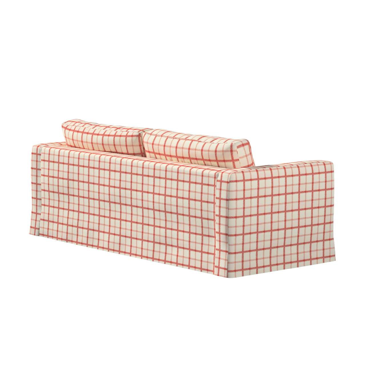 Karlstad klädsel 3-pers. soffa -  lång - 204cm i kollektionen Avinon, Tyg: 131-15