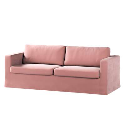 Karlstad klädsel 3-pers. soffa -  lång - 204cm i kollektionen Velvet, Tyg: 704-30