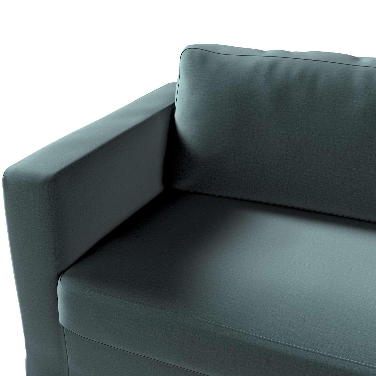 Karlstad klädsel 3-pers. soffa -  lång - 204cm i kollektionen Ingrid, Tyg: 705-36
