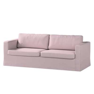 Karlstad klädsel 3-pers. soffa -  lång - 204cm i kollektionen Amsterdam, Tyg: 704-51