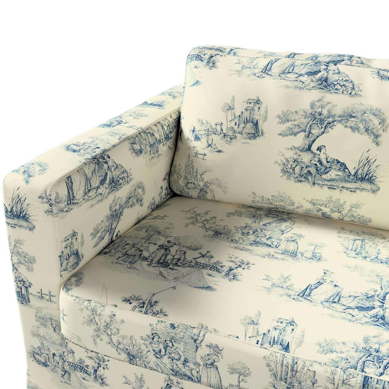 Karlstad klädsel 3-pers. soffa -  lång - 204cm i kollektionen Avinon, Tyg: 132-66