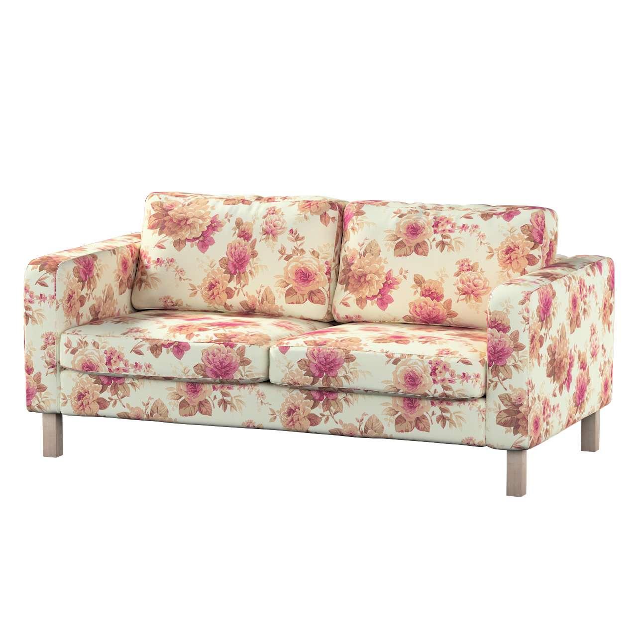 Karlstad klädsel 2-sits soffa - kort i kollektionen Londres, Tyg: 141-06