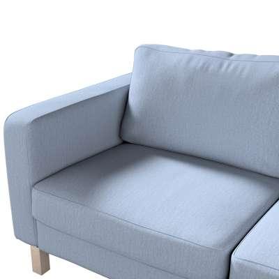 Karlstad klädsel 2-sits soffa - kort i kollektionen Chenille, Tyg: 702-13