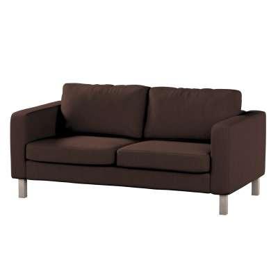 Karlstad klädsel 2-sits soffa - kort i kollektionen Chenille, Tyg: 702-18