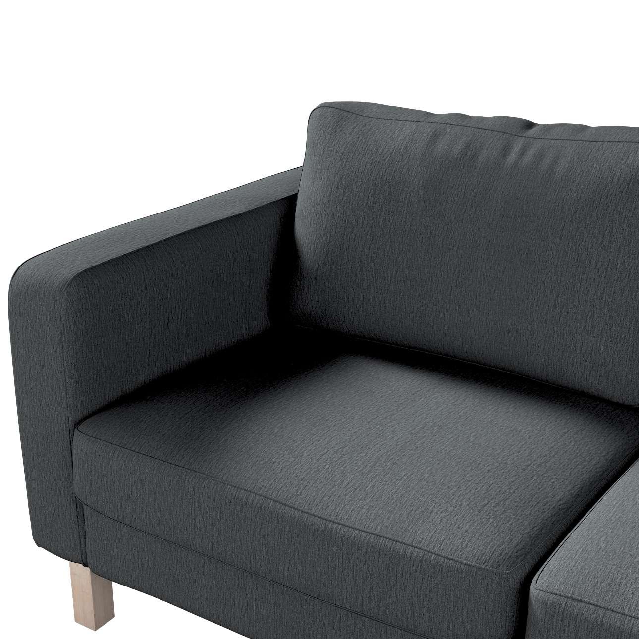 Karlstad klädsel 2-sits soffa - kort i kollektionen Chenille, Tyg: 702-20