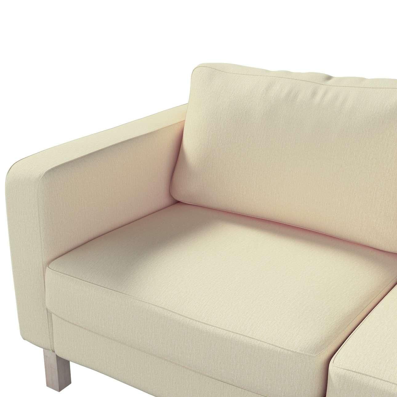 Karlstad klädsel 2-sits soffa - kort i kollektionen Chenille, Tyg: 702-22