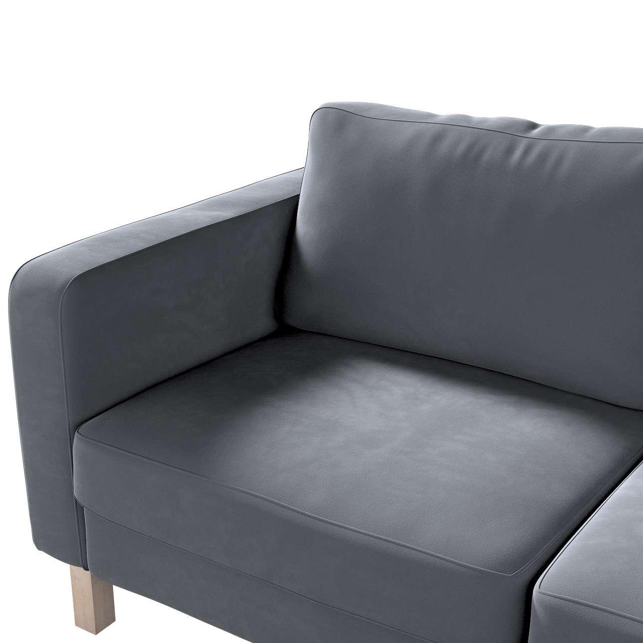 IKEA zitbankhoes/ overtrek voor Karlstad 2-zitsbank van de collectie Velvet, Stof: 704-12