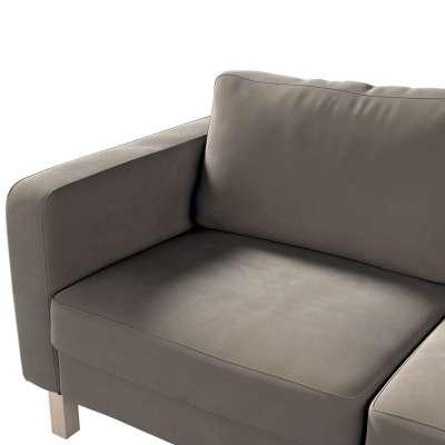 Karlstad klädsel 2-sits soffa - kort i kollektionen Velvet, Tyg: 704-19