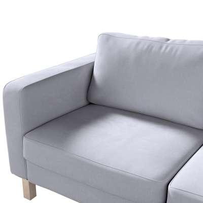 Karlstad klädsel 2-sits soffa - kort i kollektionen Velvet, Tyg: 704-24
