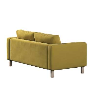 Karlstad klädsel 2-sits soffa - kort i kollektionen Velvet, Tyg: 704-27