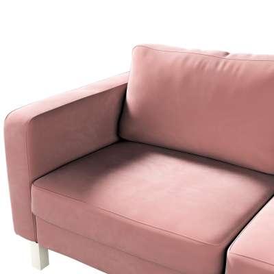 Karlstad klädsel 2-sits soffa - kort i kollektionen Velvet, Tyg: 704-30