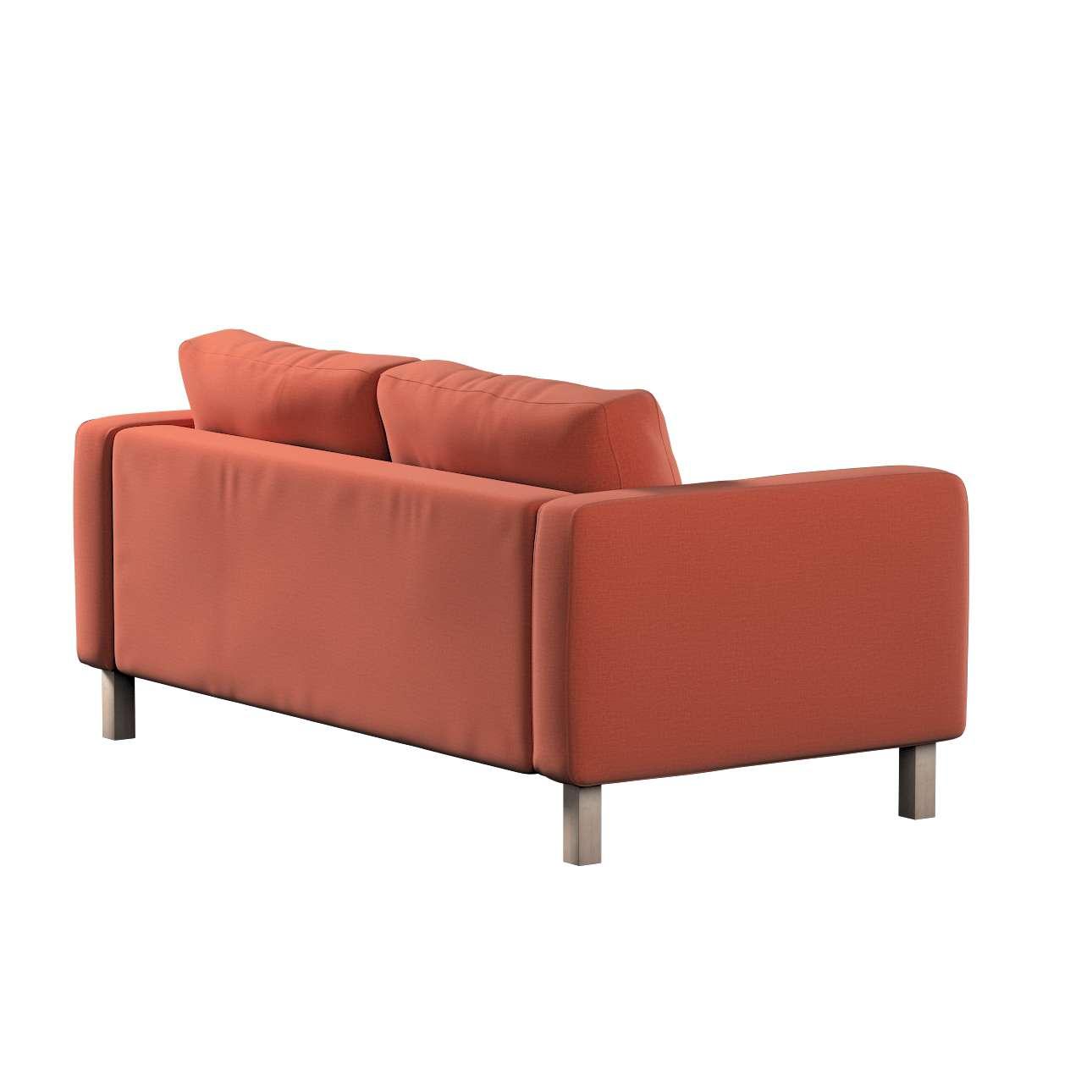 Karlstad klädsel 2-sits soffa - kort i kollektionen Ingrid, Tyg: 705-37