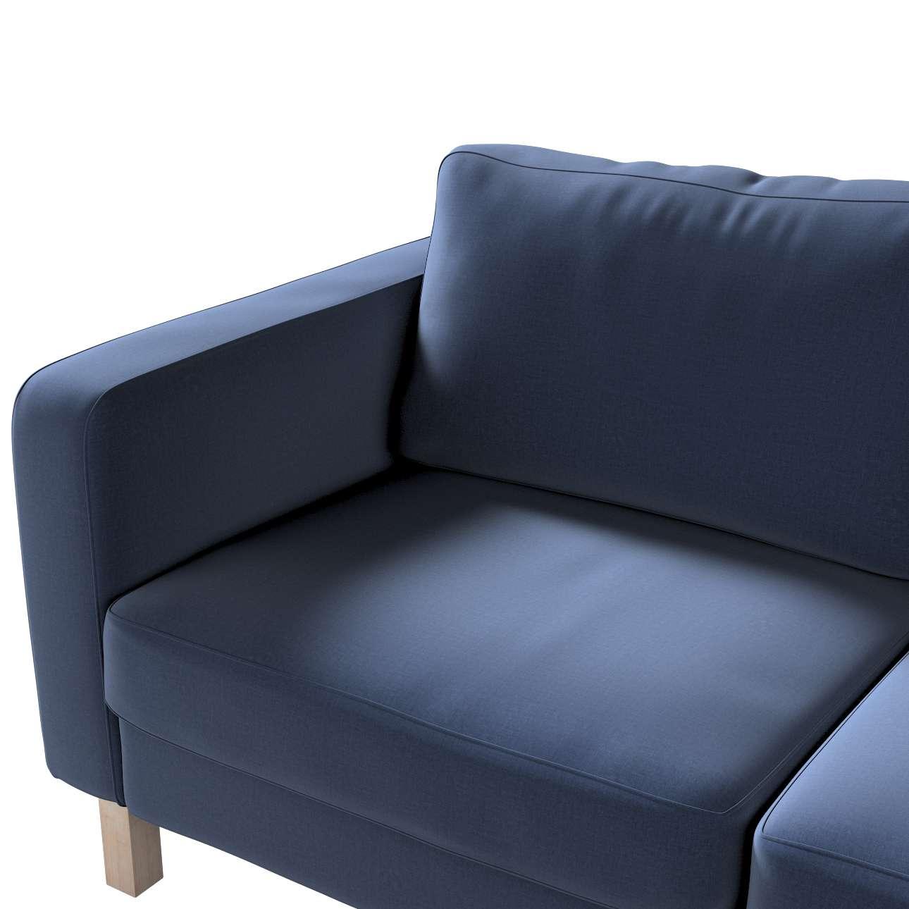Karlstad klädsel 2-sits soffa - kort i kollektionen Ingrid, Tyg: 705-39