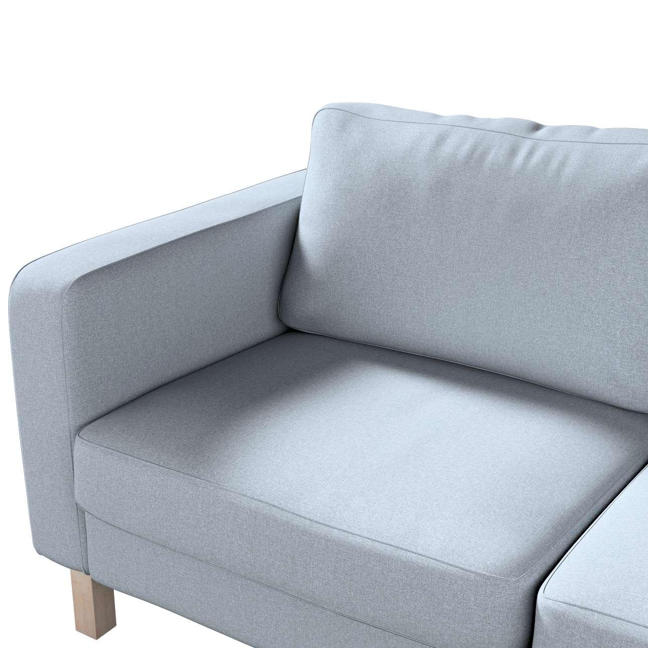 Karlstad klädsel 2-sits soffa - kort i kollektionen Amsterdam, Tyg: 704-46