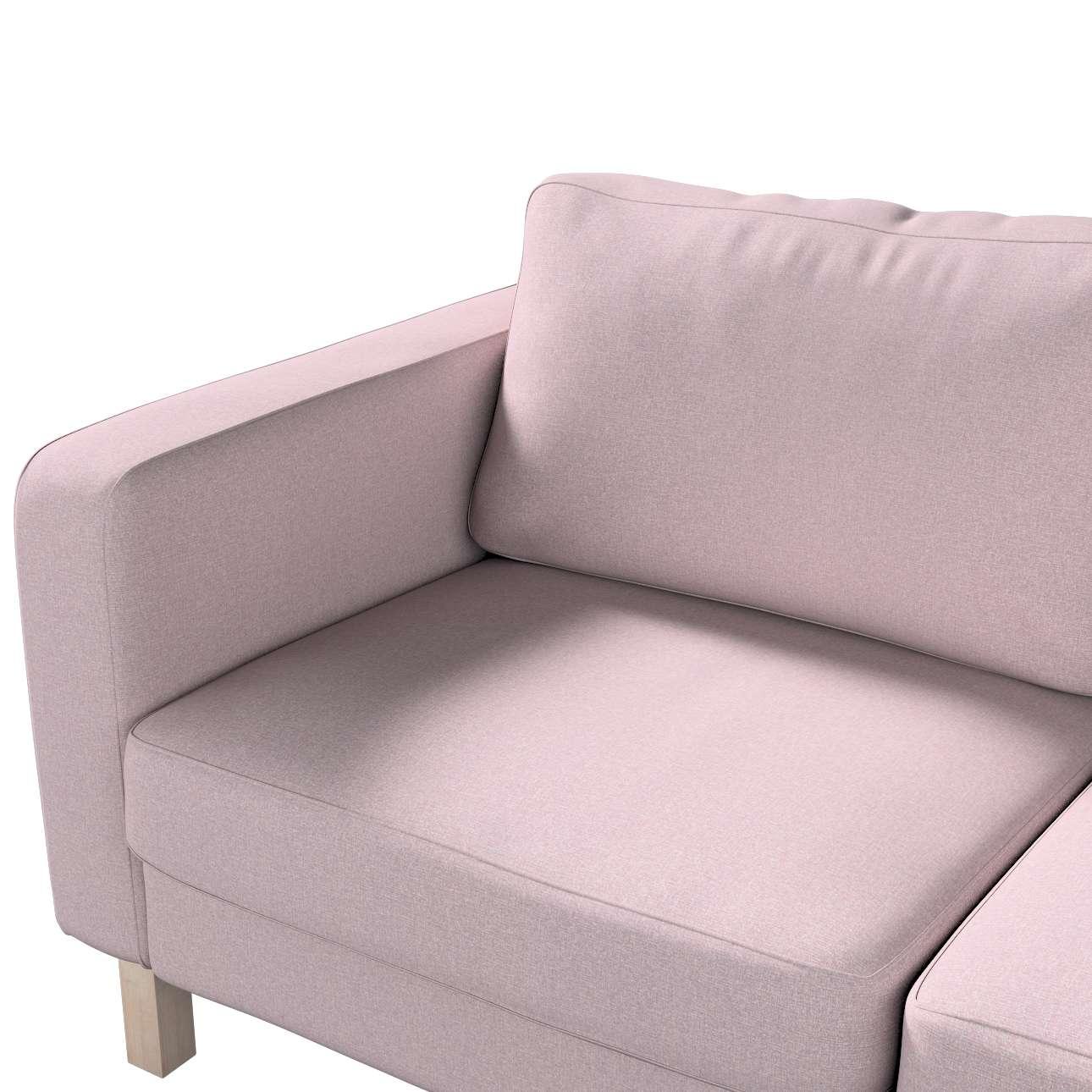 Karlstad klädsel 2-sits soffa - kort i kollektionen Amsterdam, Tyg: 704-51