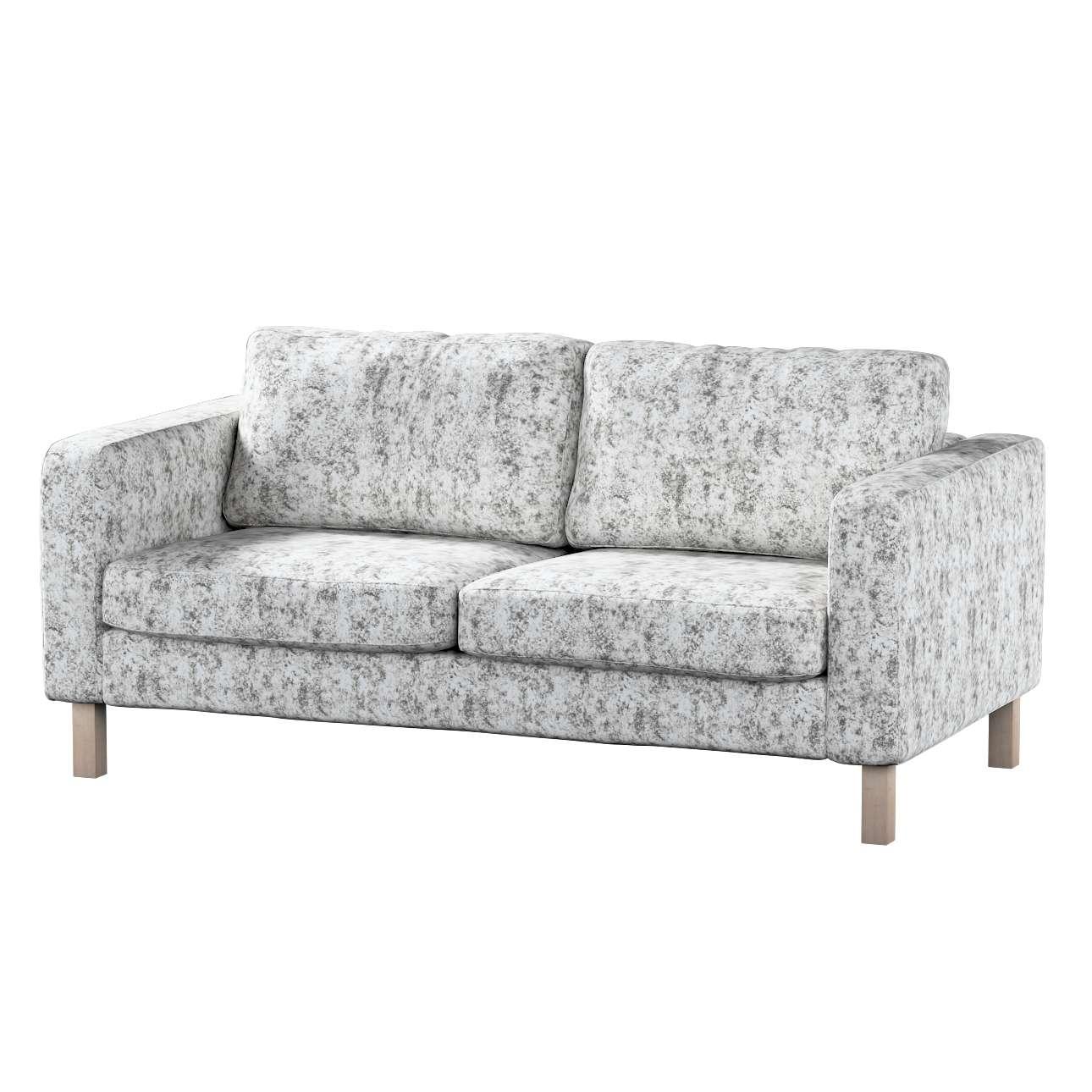 Karlstad klädsel 2-sits soffa - kort i kollektionen Velvet, Tyg: 704-49