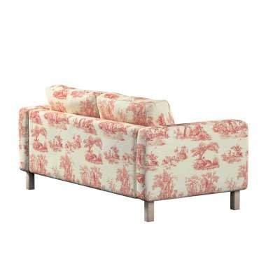 Karlstad klädsel 2-sits soffa - kort i kollektionen Avinon, Tyg: 132-15