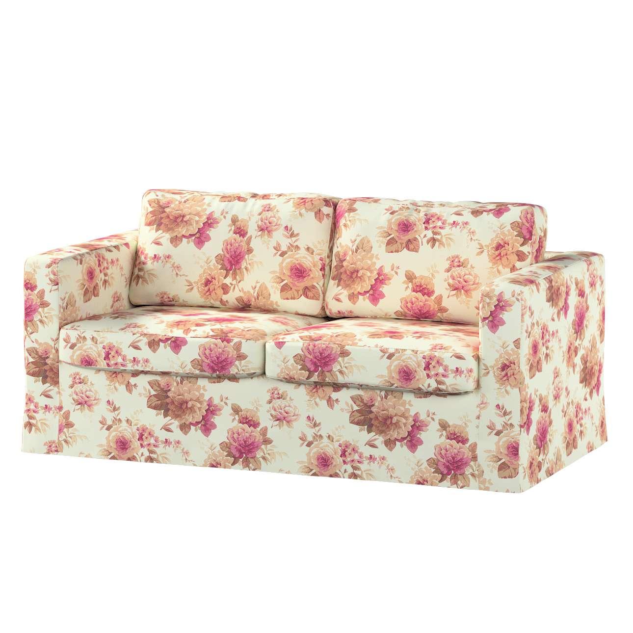 Karlstad klädsel 2-sits soffa -  lång i kollektionen Londres, Tyg: 141-06