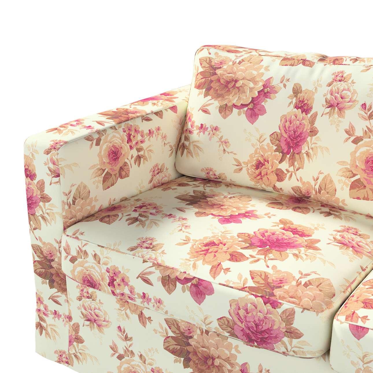 Pokrowiec na sofę Karlstad 2-osobową nierozkładaną długi w kolekcji Londres, tkanina: 141-06
