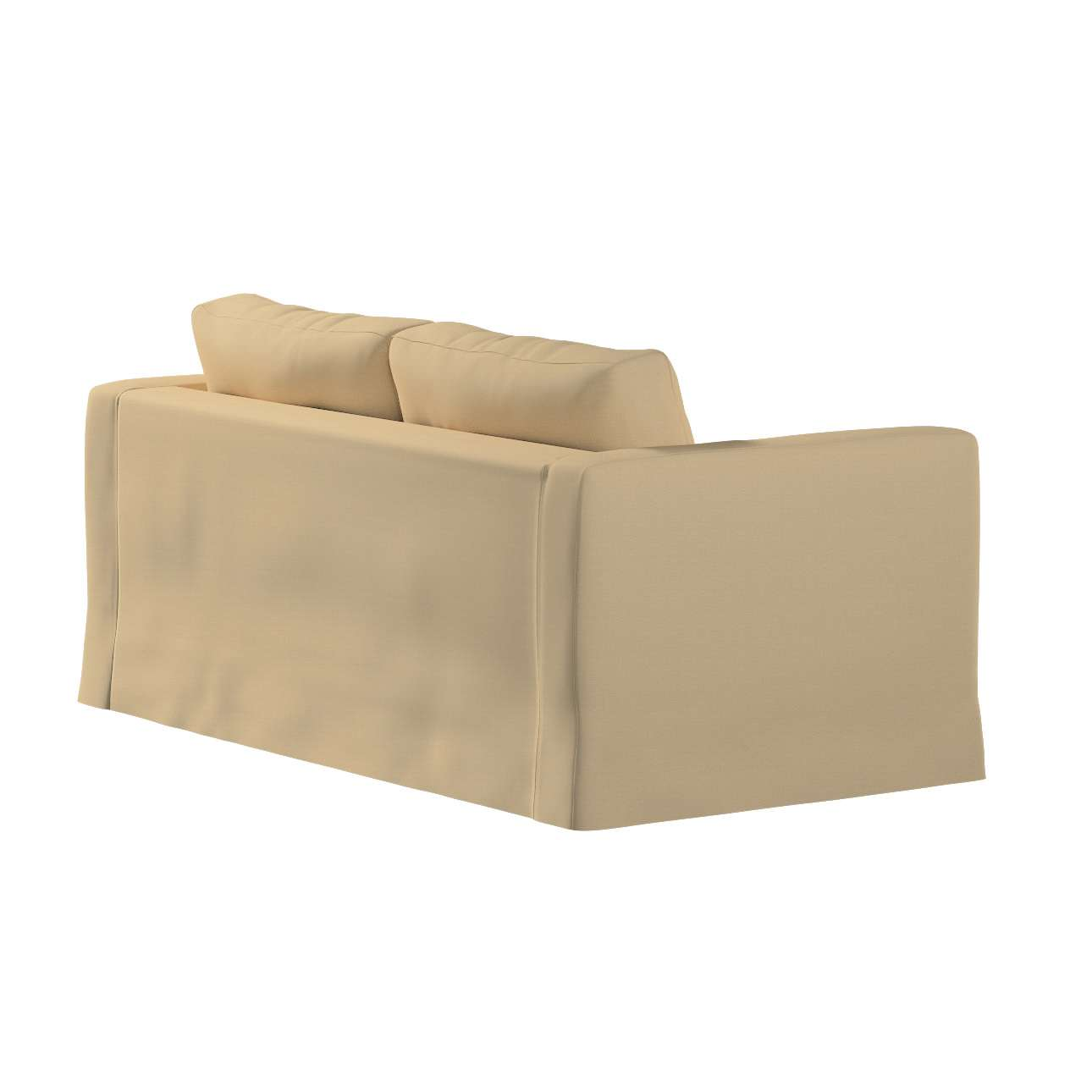 Karlstad klädsel 2-sits soffa -  lång i kollektionen Panama Cotton, Tyg: 702-01