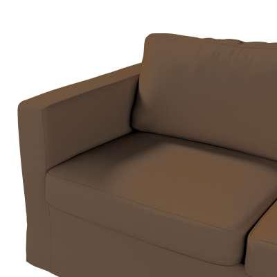 Karlstad klädsel 2-sits soffa -  lång i kollektionen Panama Cotton, Tyg: 702-02