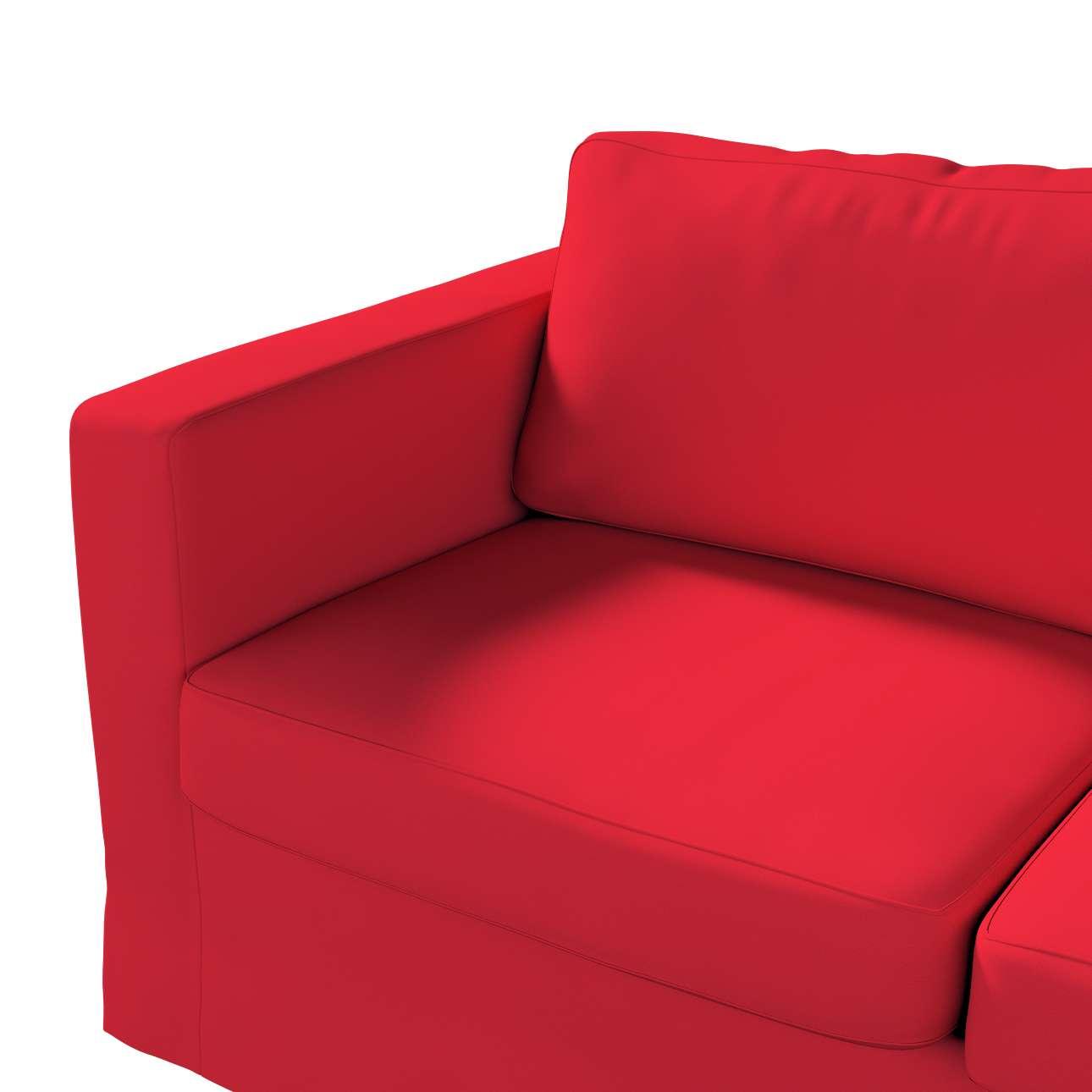 Karlstad klädsel 2-sits soffa -  lång i kollektionen Panama Cotton, Tyg: 702-04