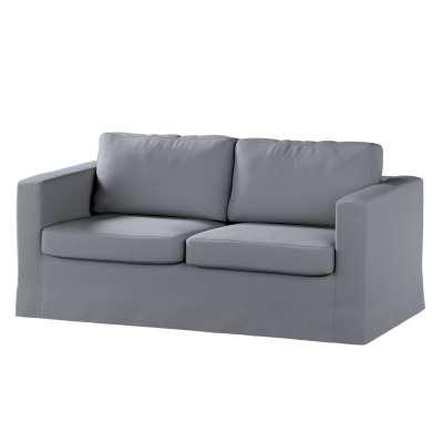 Karlstad klädsel 2-sits soffa -  lång i kollektionen Panama Cotton, Tyg: 702-07