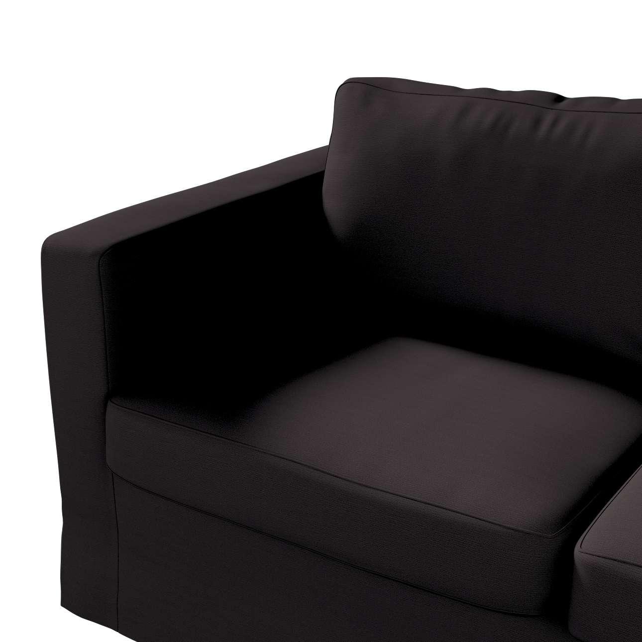 Karlstad klädsel 2-sits soffa -  lång i kollektionen Panama Cotton, Tyg: 702-08