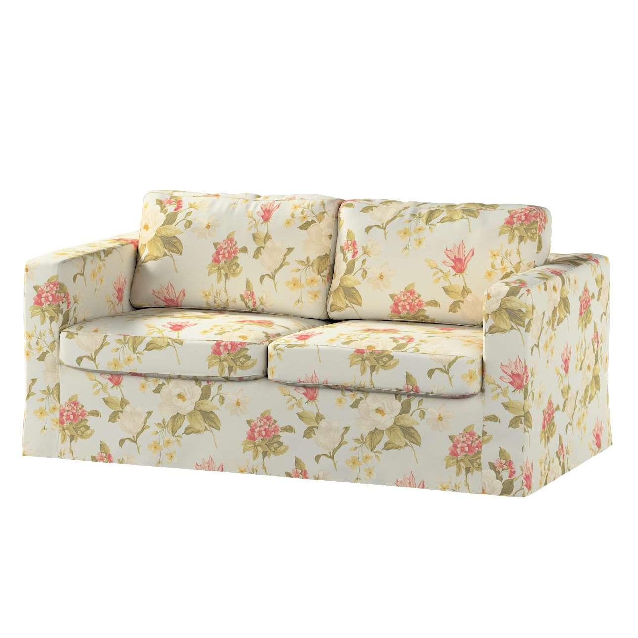 Karlstad klädsel 2-sits soffa -  lång i kollektionen Londres, Tyg: 123-65