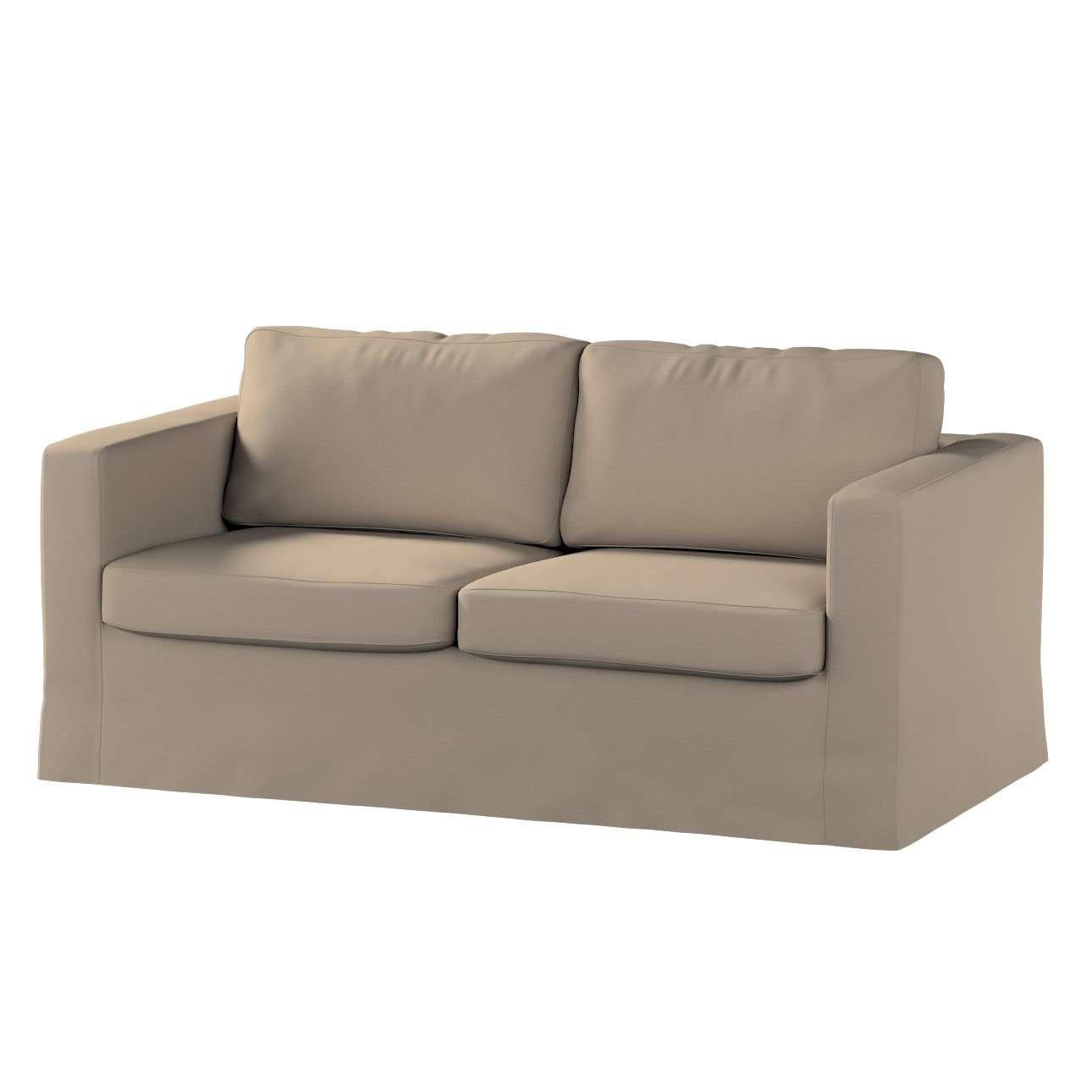 Hoes (lang) voor IKEA-Karlstad 2-zitsbank van de collectie Cotton Panama, Stof: 702-28