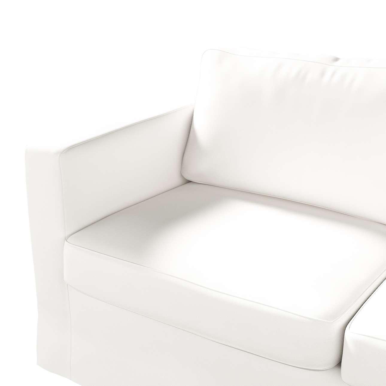 Karlstad klädsel 2-sits soffa -  lång i kollektionen Panama Cotton, Tyg: 702-34