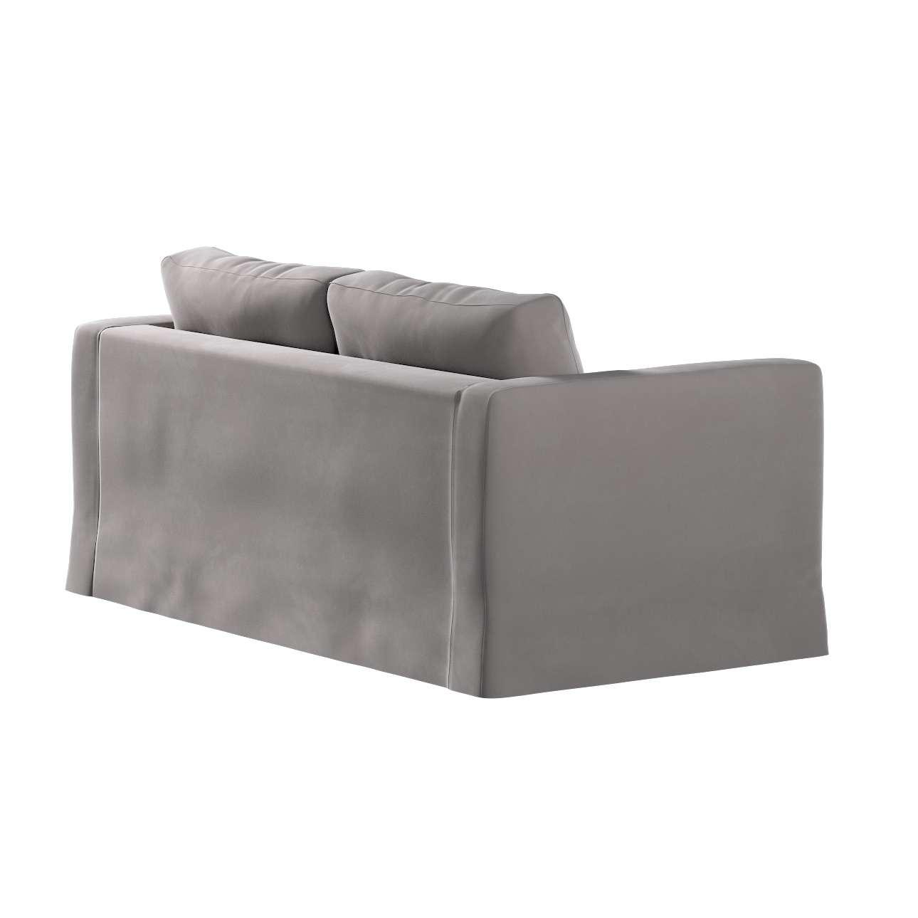 Karlstad klädsel 2-sits soffa -  lång i kollektionen Velvet, Tyg: 704-11