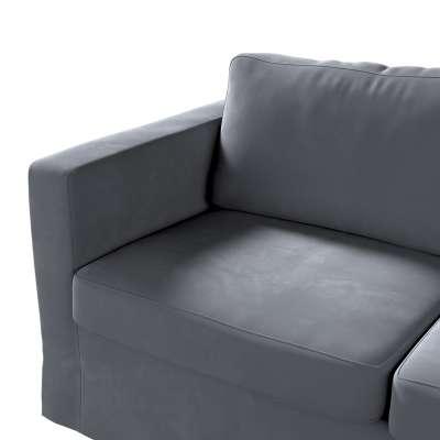 Karlstad klädsel 2-sits soffa -  lång i kollektionen Velvet, Tyg: 704-12