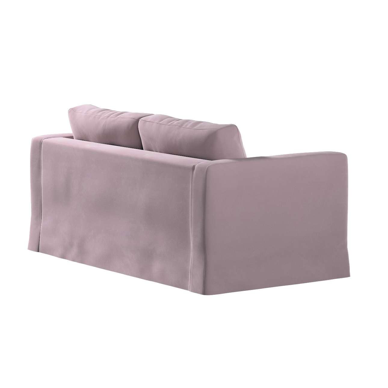 Karlstad klädsel 2-sits soffa -  lång i kollektionen Velvet, Tyg: 704-14
