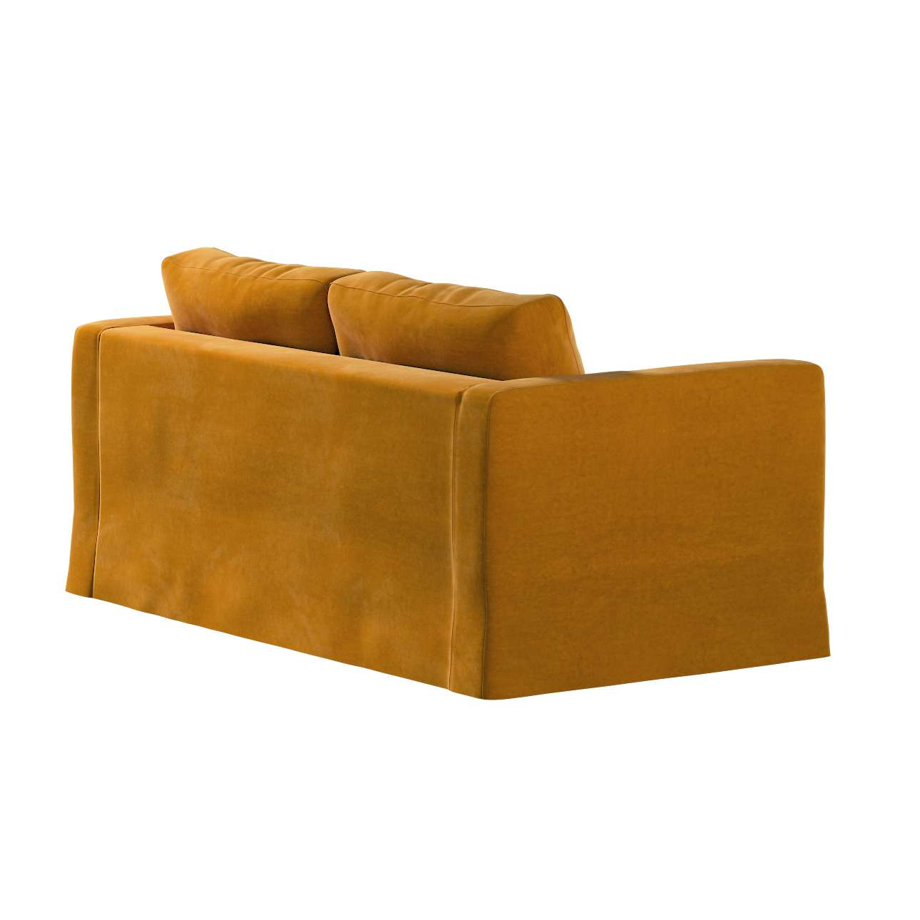 Karlstad klädsel 2-sits soffa -  lång i kollektionen Velvet, Tyg: 704-23