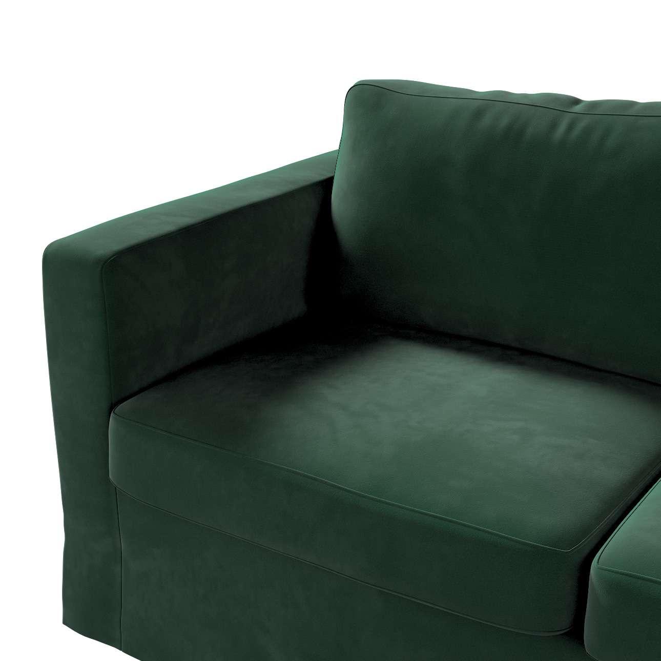 Karlstad klädsel 2-sits soffa -  lång i kollektionen Velvet, Tyg: 704-25