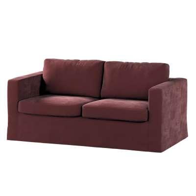 Karlstad klädsel 2-sits soffa -  lång i kollektionen Velvet, Tyg: 704-26