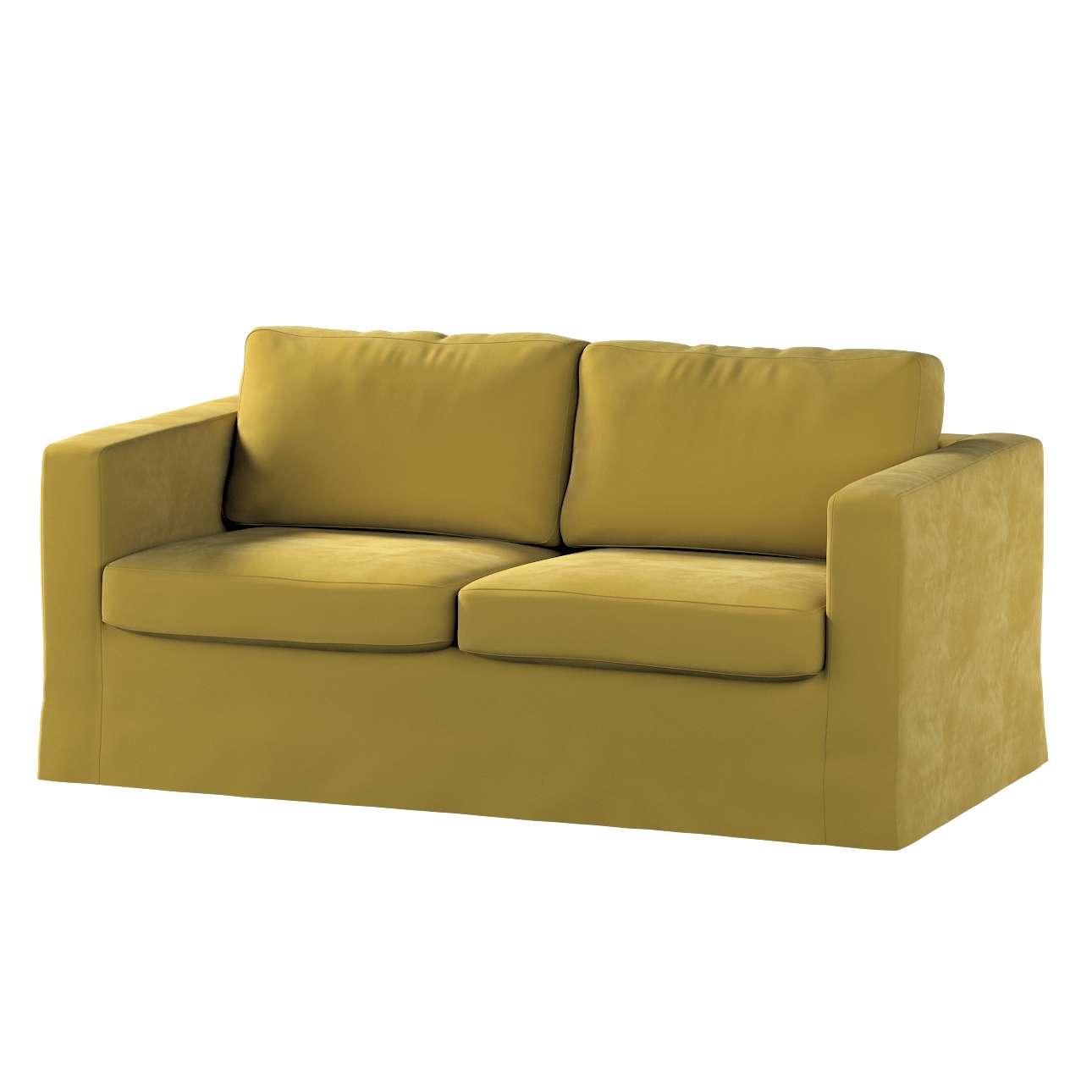 Karlstad klädsel 2-sits soffa -  lång i kollektionen Velvet, Tyg: 704-27