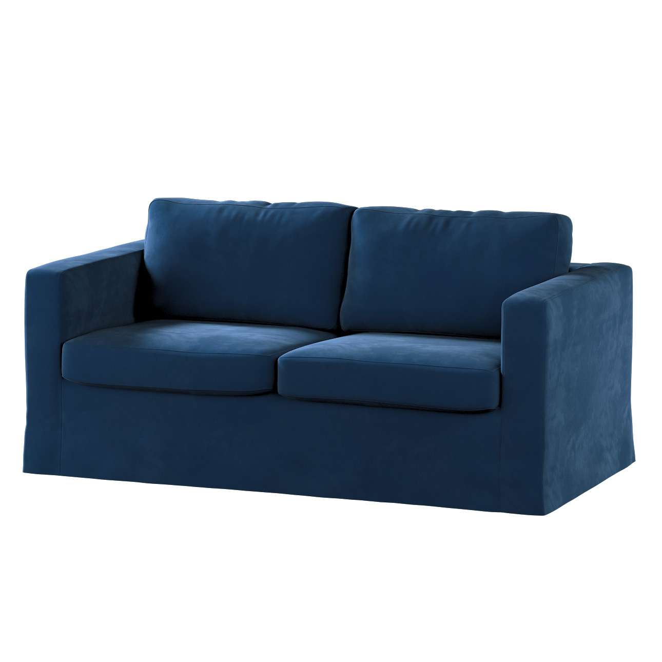 Karlstad klädsel 2-sits soffa -  lång i kollektionen Velvet, Tyg: 704-29