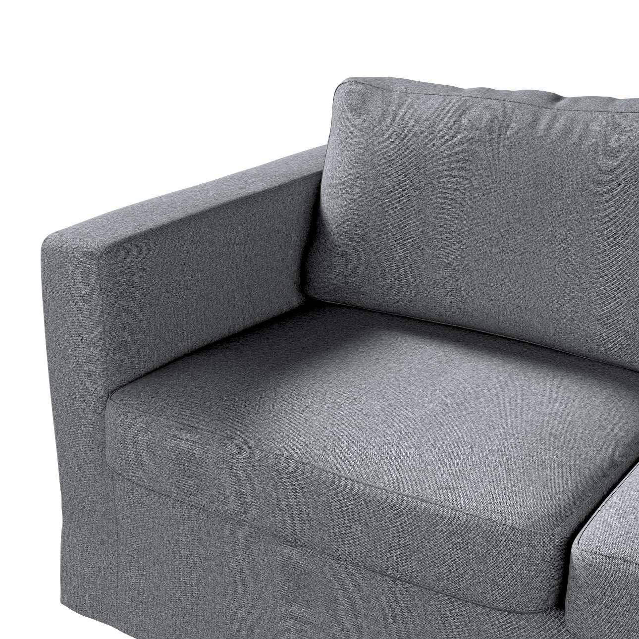 Karlstad klädsel 2-sits soffa -  lång i kollektionen Amsterdam, Tyg: 704-47