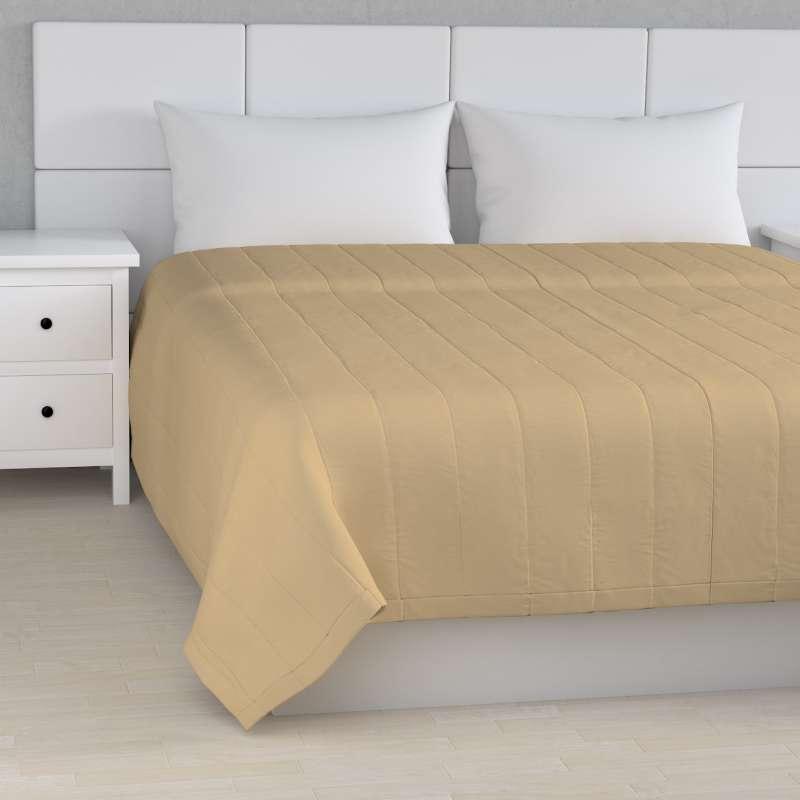 Tagesdecke mit Streifen-Steppung von der Kollektion Cotton Panama, Stoff: 702-01