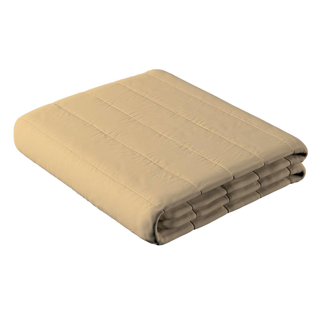 Päiväpeitto tikattu raidat mallistosta Cotton Panama, Kangas: 702-01
